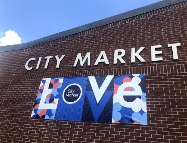 City Market sign